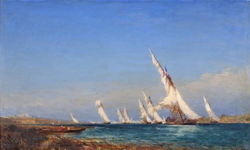 Félix ZIEM, Lagune dans la Méditerranée, © Atelier Photo Muzard Beaune
